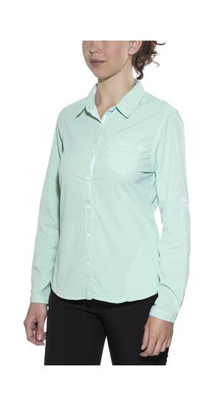 Craghoppers NosiLife Shona overhemd en blouse lange mouwen Dames groen